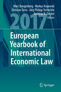 Cover European Yearbook of International Economic Law 2017