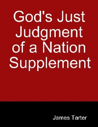 Cover God's Just Judgment of a Nation Supplement