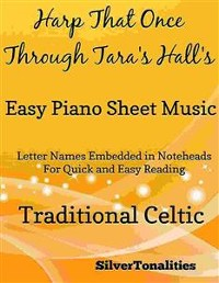 Cover Harp That Once Through Tara's Halls Easy Piano Sheet Music