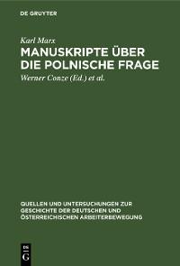 Cover Manuskripte über die polnische Frage
