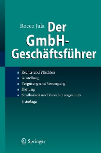 Cover Der GmbH-Geschäftsführer