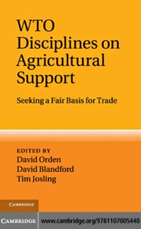 Cover WTO Disciplines on Agricultural Support
