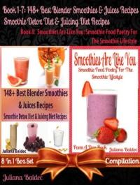 Cover 148+ Healthy Green Recipes, Vegetable & Fruit Blender Recipes