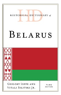 Cover Historical Dictionary of Belarus