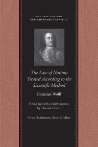 Cover The Law of Nations Treated According to the Scientific Method