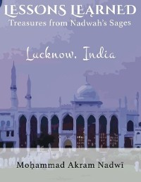Cover Lessons Learned: Treasures from Nadwah's Sages