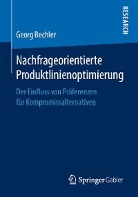 Cover Nachfrageorientierte Produktlinienoptimierung