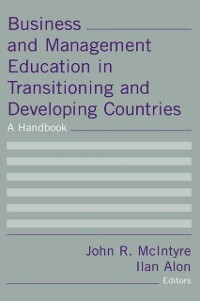 Cover Business and Management Education in Transitioning and Developing Countries: A Handbook