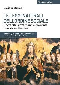 Cover Le leggi naturali dellordine sociale