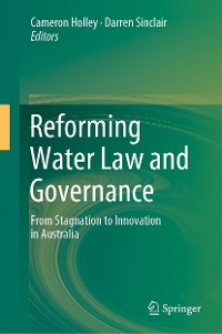Cover Reforming Water Law and Governance