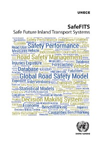 Cover SafeFITS - Safe Future Inland Transport Systems
