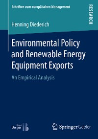 Cover Environmental Policy and Renewable Energy Equipment Exports