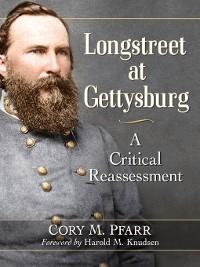 Cover Longstreet at Gettysburg