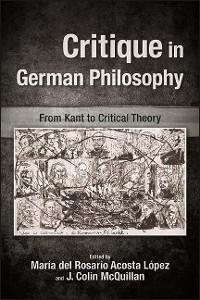 Cover Critique in German Philosophy