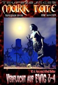 """Cover TEUFELSJÄGER 205-206: """"Verflucht auf EWIG 3-4"""""""