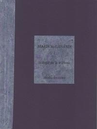 Cover Trilogie de la tristesse