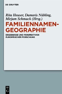 Cover Familiennamengeographie