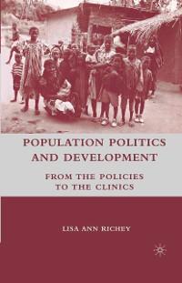 Cover Population Politics and Development