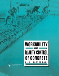 Cover Workability and Quality Control of Concrete
