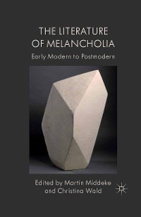 Cover The Literature of Melancholia