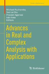 Cover Advances in Real and Complex Analysis with Applications