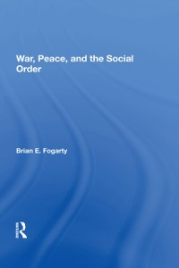 Cover War, Peace, And The Social Order