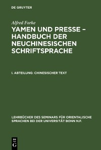 Cover Chinesischer Text