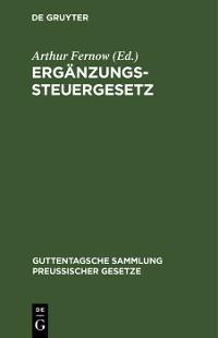 Cover Ergänzungssteuergesetz