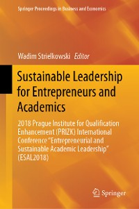 Cover Sustainable Leadership for Entrepreneurs and Academics