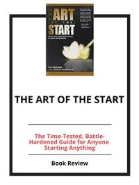 Cover The Art of the Start
