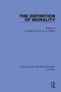 Cover Definition of Morality