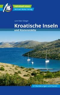 Cover Kroatische Inseln und Küstenstädte Reiseführer Michael Müller Verlag