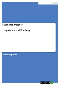 Cover Linguistics and Teaching