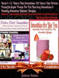 Cover Detox Diet Smoothies: 28 Detox Diet Drinks (Best Detox Diet Recipes)
