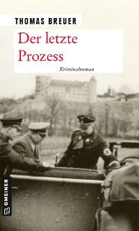 Cover Der letzte Prozess