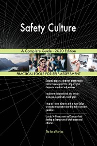 Cover Safety Culture A Complete Guide - 2020 Edition