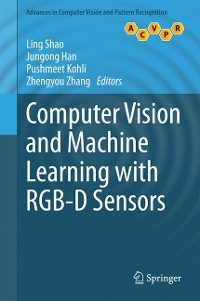 Cover Computer Vision and Machine Learning with RGB-D Sensors