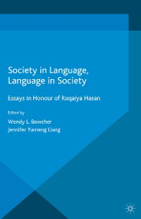 Cover Society in Language, Language in Society