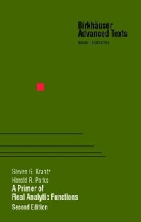 Cover Primer of Real Analytic Functions