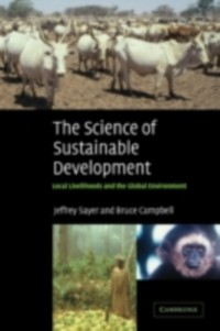 Cover Science of Sustainable Development
