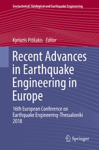 Cover Recent Advances in Earthquake Engineering in Europe