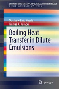 Cover Boiling Heat Transfer in Dilute Emulsions