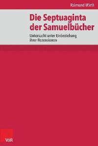 Cover Die Septuaginta der Samuelbücher