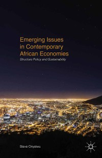 Cover Emerging Issues in Contemporary African Economies