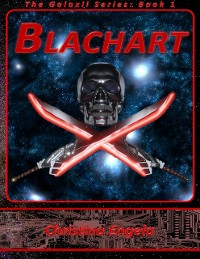 Cover The Galaxii Series Book 1 - Blachart