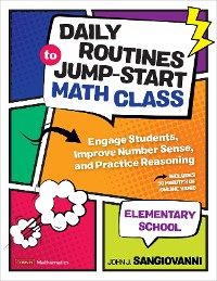 Cover Daily Routines to Jump-Start Math Class, Elementary School