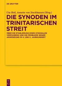 Cover Die Synoden im trinitarischen Streit