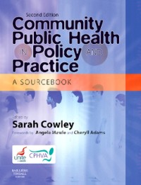 Cover Community Public Health in Policy and Practice E-Book