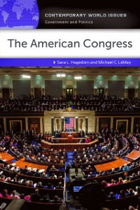 Cover American Congress: A Reference Handbook