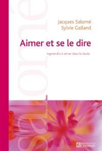 Cover Aimer et se le dire (NE)